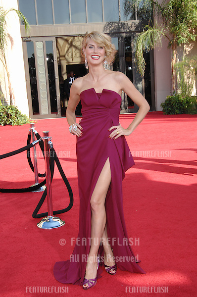 Heidi Klum at the 59th Primetime Emmy Awards at the Shrine Auditorium..September 16, 2007 Los Angeles, CA.Picture: Paul Smith / Featureflash