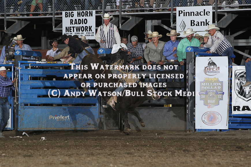 Cody PRCA Rodeo 7/1 perf. Photo by Andy Watson. All Photos (C) Watson Rodeo Photos, INC. Any use must have written Permission.