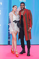 BILBAO, SPAIN-November 04: Jason Derulo, Sofia Reyes attend the EMA 2018 at BEC (Bilbao Exhibition Center) in Bilbao, Spain on the 4 of November of 2018. November04, 2018.  ***NO SPAIN*** <br /> CAP/MPI/RJO<br /> &copy;RJO/MPI/Capital Pictures