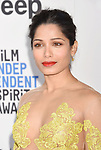 SANTA MONICA, CA - FEBRUARY 25: Actress Freida Pinto attends the 2017 Film Independent Spirit Awards at the Santa Monica Pier on February 25, 2017 in Santa Monica, California.