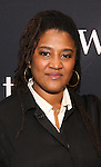 Lynn Nottage attends the photocall for the Broadway cast of 'Sweat'  at The New 42nd Street Studios on 2/16/2017 in New York City.