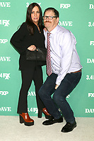 "LOS ANGELES - FEB 27:  Pamela Adlon, John Pirruccello at the ""Dave"" Premiere Screening from FXX at the DGA Theater on February 27, 2020 in Los Angeles, CA"