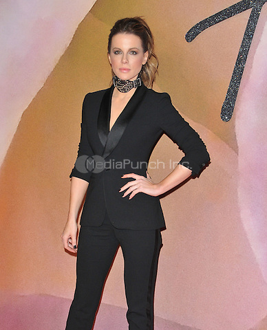Kate Beckinsale at the Fashion Awards 2016, Royal Albert Hall, Kensington Gore, London, England, UK, on Monday 05 December 2016. <br /> CAP/CAN<br /> ©CAN/Capital Pictures /MediaPunch ***NORTH AND SOUTH AMERICAS ONLY***
