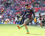 Petr Cech of Arsenal warms up during the Emirates FA Cup Final match at Wembley Stadium, London. Picture date: May 27th, 2017.Picture credit should read: David Klein/Sportimage