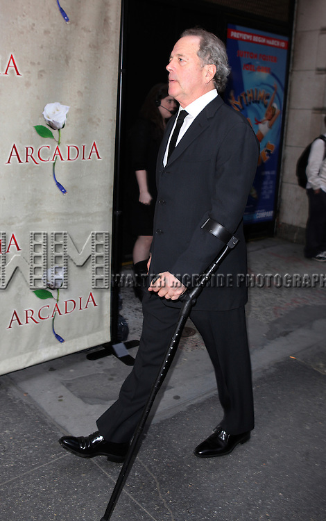 Don Gummer.attending the Broadway Opening Night Performance of 'Arcadia' at the Barrymore Theatre in New York City