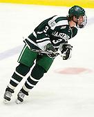 Connor Goggin (Dartmouth - 3) - The Harvard University Crimson defeated the Dartmouth College Big Green 4-1 (EN) on Monday, January 18, 2010, at Bright Hockey Center in Cambridge, Massachusetts.