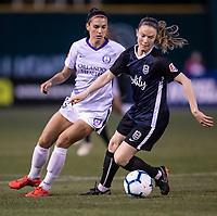 Tacoma, WA - Sunday, April 21, 2019: Reign FC vs Orlando Pride at Cheney Stadium.