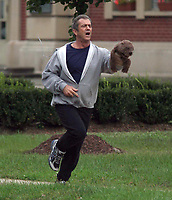 Mel Gibson<br /> filming The Beaver <br /> 2009<br /> Photo By John Barrett/CelebrityArchaeology.com