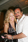Cody Horn (Billy Magnussen's girlfriend and Thorsten Kaye pose as they were in a movie to together - Occupants and remeet her on the 12th Annual SoapFest - Cruisin' & Schmoozin' on the Marco Island Princess to raise dollars to benefit Marco Island YMCA, theatre program & Art League of Marco Island on May 16, 2010 on Marco Island, FLA. (Photo by Sue Coflin/Max Photos)