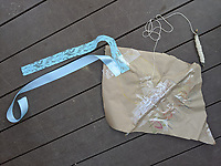 Epidemic Kite by Keegan Daigle Grade 2, Yarmouth ME, USA