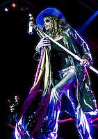 Aerosmith kicks off its 2009 world tour in St. Louis, Mo., at the Verizon Wireless Amphitheater on June 10, 2009.