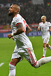 12.01.2018, BayArena, Leverkusen , GER, 1.FBL., Bayer 04 Leverkusen vs. FC Bayern M&uuml;nchen<br /> im Bild / picture shows: <br /> Arturo Vidal (Bayern Muenchen #23), freut sich &uuml;ber das 3:1 <br /> <br /> <br /> Foto &copy; nordphoto / Meuter