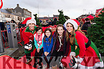 Oisin Denver with Hazel, Abigail and Charlotte Geary and Kamila Mora, pictured at the Sleigh ride in Listowel on Sunday last.