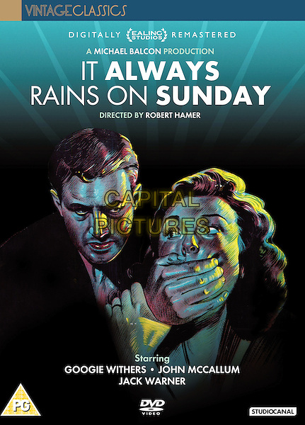 DVD COVER ART<br /> in It Always Rains on Sunday (1947) <br /> *Filmstill - Editorial Use Only*<br /> CAP/NFS<br /> Image supplied by Capital Pictures