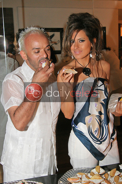 Sergio Lopez and Kerri Kasem<br /> at Maria Conchita Alonso's Surprise Birthday Party, Private Residence, Los Angeles, CA 06-25-05<br /> David Edwards/DailyCeleb.Com 818-249-4998<br /> EXCLUSIVE