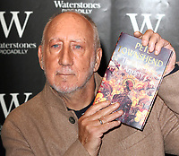 Pete Townshend, guitarist of the legendary British rock band The Who, attends a book signing for his new novel, The Age of Anxiety, at Waterstones, Piccadilly, London. on November 5th 2019<br /> <br /> Photo by Keith Mayhew