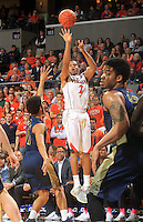 Virginia guard B.J. Stith (2) during the game Jan. 22, 2015, in Charlottesville, Va. Virginia defeated Georgia Tech 57-28.