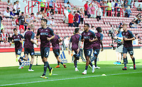 Swansea City's Federico Fernandez during the pre-match warm-up for the Sky Bet Championship match between Sheffield United and Swansea City at Bramall Lane, Sheffield, England, UK. Saturday 04 August 2018