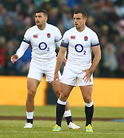 George Ford of England during the 2018 Castle Lager Incoming Series 2nd Test match between South Africa and England at the Toyota Stadium.Bloemfontein,South Africa. 16,06,2018 Photo by Steve Haag / stevehaagsports.com