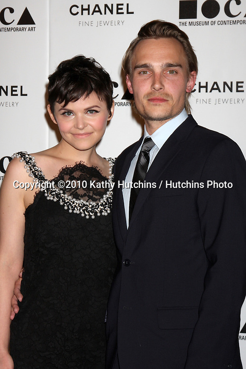 """LOS ANGELES - NOV 13:  Ginnifer Goodwin,  Joey Kern  arrives at the MOCA's Annual Gala """"The Artist's Museum Happening"""" 2010 at Museum of Contemporary Art on November 13, 2010 in Los Angeles, CA"""