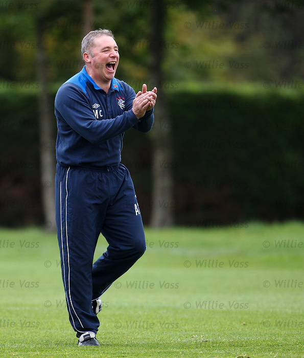 Ally McCoist enjoying training