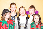 DRESSED UP: Aine O'Shea, Megan O'Connor, Aoife O'Mahony, Ronan O'Shea and Emer Tangney all dressed up for the variety show in Milltown Community Hall on Thursday evening..   Copyright Kerry's Eye 2008
