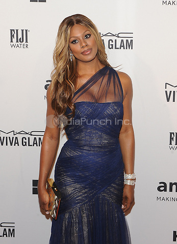 New York,NY- June 10: Laverne Cox attends the amfAR Inspiration Gala at The Plaza Hotel In New York City on June 10, 2014 . Credit: John Palmer/MediaPunch