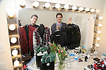 Will Nunziata and Anthony Nunziata backstage at  The American Pops Orchestra '75 Years of Streisand'  at the George Washington University Lisner Auditorium on January 13, 2017 in New York City.