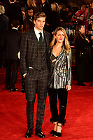 www.acepixs.com<br /> <br /> November 2 2017, London<br /> <br /> Toby Huntington-Whiteley &amp; Cecily Brown arriving at the world premiere of 'Murder On The Orient Express' at the Royal Albert Hall on November 2, 2017 in London, England.<br /> <br /> By Line: Famous/ACE Pictures<br /> <br /> <br /> ACE Pictures Inc<br /> Tel: 6467670430<br /> Email: info@acepixs.com<br /> www.acepixs.com