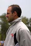5 April 2003: Courage head coach Jay Entlich. The Washington Freedom defeated the Carolina Courage 2-1 at SAS Stadium in Cary, NC in a regular season WUSA game.