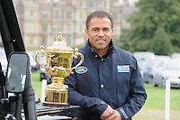Webb Ellis Cup World Cup Rugby trophy tour