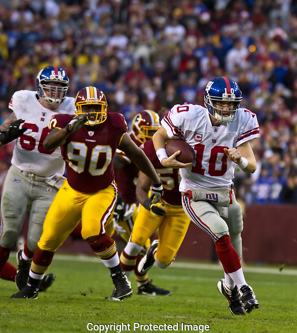 Redskins-Giants, 2 January 2011