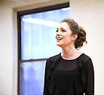 """Laura Osnes during a Performance Sneak Peek of The MCP Production of """"The Scarlet Pimpernel"""" at Pearl Rehearsal studio Theatre on February 14, 2019 in New York City."""