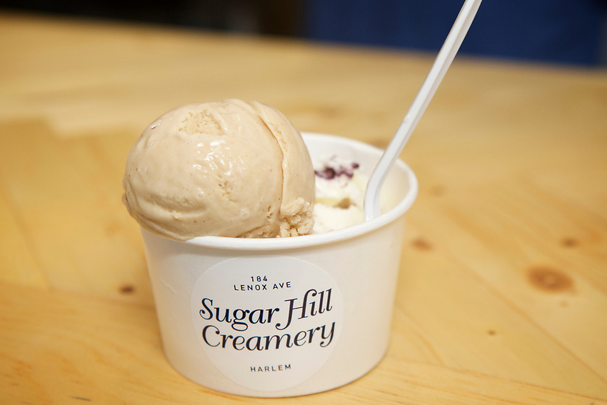 New York, NY - July 29, 2017: The opening of Sugar Hill Creamery, a new Ice Cream shop in Harlem.<br /> <br /> <br /> Credit: Clay Williams for NYMag.com.<br /> <br /> &copy; Clay Williams / http://claywilliamsphoto.com