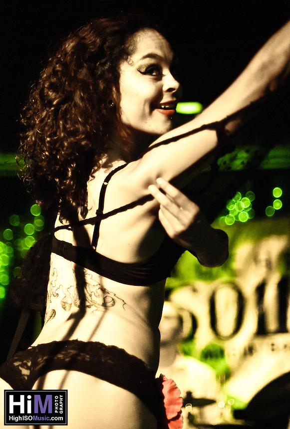Debauche and Slow Burn Burlesque at the Hi Ho!