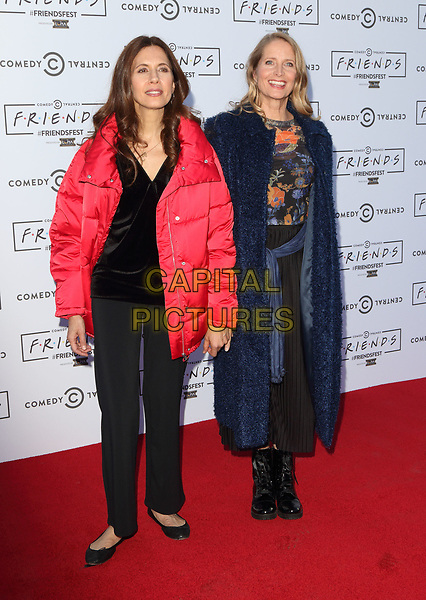 Jessica Hecht and Jane Sibbett at the Closing Party for Friendsfest 2017 at Clissold Park, London on September 14th 2017<br /> CAP/ROS<br /> &copy; Steve Ross/Capital Pictures