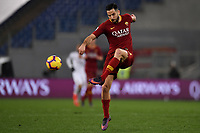 Kostas Manolas of AS Roma in action during the Serie A 2018/2019 football match between AS Roma and AC Milan at stadio Olimpico, Roma, February 3, 2019 <br />  Foto Andrea Staccioli / Insidefoto
