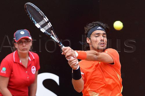 16.05.2012. Rome, Italy.  Italian Open Tennis Championship by BNP Paribas. Photo Fabio Fognini