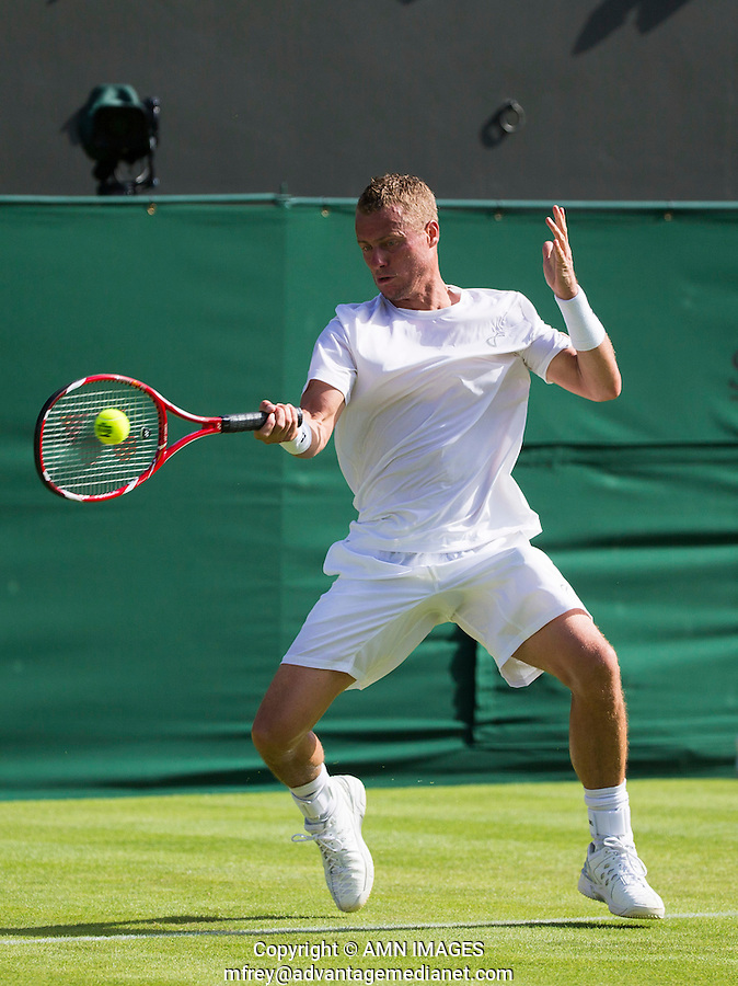 LLEYTON HEWITT (AUS)<br /> <br /> TENNIS - THE CHAMPIONSHIPS - WIMBLEDON 2015 -  LONDON - ENGLAND - UNITED KINGDOM - ATP, WTA, ITF <br /> <br /> &copy; AMN IMAGES