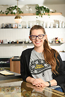 August 2019 Oregon Leaf<br /> The Women's Issue<br /> <br /> Budtender of the Month<br /> Bek Houghton of TJ's on Powell