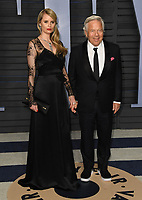 04 March 2018 - Los Angeles, California - Ricki Lander, Robert Kraft. 2018 Vanity Fair Oscar Party hosted following the 90th Academy Awards held at the Wallis Annenberg Center for the Performing Arts. <br /> CAP/ADM/BT<br /> &copy;BT/ADM/Capital Pictures
