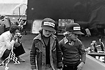 A young Paul and Mark Steward at the 1974 John Player British Grand Prix, the year after their father Jackie retired from Grand Prix racing.