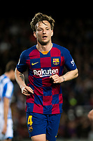 7th March 2020; Camp Nou, Barcelona, Catalonia, Spain; La Liga Football, Barcelona versus Real Sociedad;  Ivan Rakitic of FC Barcelona comes back into midfield after a fast break