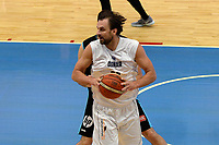 LEEUWARDEN - Basketbal, Donar - Estudiantes, Kalverdijkje, Champions League,  29-09-2017, Donar speler Drago Pasalic