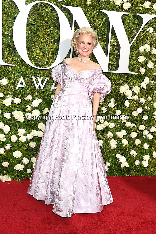 Christine Ebersole attends the 71st Annual  Tony Awards on June 11, 2017 at Radio City Music Hall in New York, New York, USA.<br /> <br /> photo by Robin Platzer/Twin Images<br />  <br /> phone number 212-935-0770