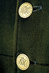 'DUKE OF BEAUFORT HUNT', HUNT BUTTONS: 'BH' ONLY THE MASTER OF THE HUNT & JOINT MASTER MAY WEAR THIS BUTTON