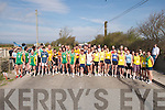 RACE: Many clubs from around Kerry who took part in the 5K Kerry Road Race Championship for the Tadgh Crowley Memorial Cup in Ardfert on Sunday. The AAI County Senior, Novice, Junior and Masters was held on Sunday at Ardfert, hosted by St Brendan's, over a reasonably flat 5km course. Hot conditions made the going tough for all concerned. Cian Murphy of Iveragh AC, the defending champion, left his opposition for dead in the very early stages and stayed in control throughout to win for the second year in succession. Cian clocked a time of 16-02, Eoin McKenna Riocht also did himself justice to take runner up spot in a time of 16-14, with his team mate Willie Reidy taking bronze with 16-17 on the clock.  Thomas Bradley, Riocht,  won the Junior title, with 18-36. Damien Dalton, Gneeveguilla,   won the o/35 section with 21-35 on the clock, as did Brendan King Iveragh ac in the o/40 category (16-50). Mike O Shea, Iveragh,  won the o/45 event (17-44), and Willie O Riordan, St Brendan's, won the o/50 section (19-23). Patrick O Shea, Iveragh, took the o/55 (17-36), Lorcan Murphy, Iveragh, father of the overall winner, took the o/60 section. .