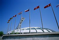Montreal (Qc) CANADA - May 2008 -.Olympic Stadium.-Photo (c)  Images Distribution..