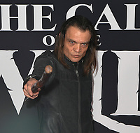 "13 February 2020 - Hollywood, California - Micah Fitzgerald . ""The Call of the Wild"" Twentieth Century Studios World Premiere held at El Capitan Theater. Photo Credit: Dave Safley/AdMedia"