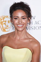 Michelle Keegan in the winners room for the BAFTA TV Awards 2018 at the Royal Festival Hall, London, UK. <br /> 13 May  2018<br /> Picture: Steve Vas/Featureflash/SilverHub 0208 004 5359 sales@silverhubmedia.com